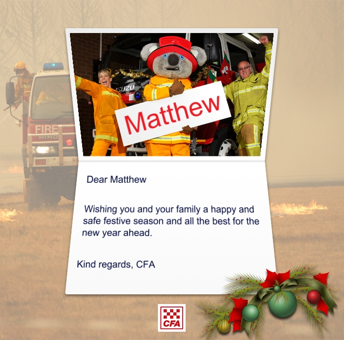 Custom Corporate eCards eCards for Business: CFA Christmas