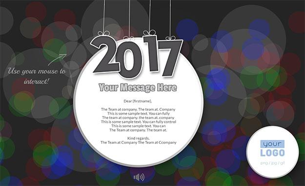 New Year Dark 2017