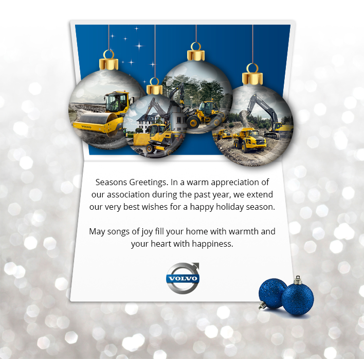 Holiday eCards Gallery Custom eCards for Business: Volvo Custom Card