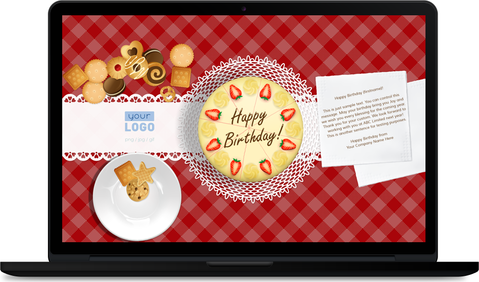 Company Employee Birthday eCards