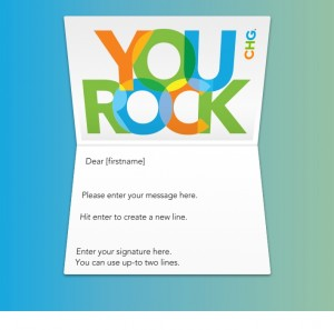 Thank You Custom eCards eCards for Business: Your Rock