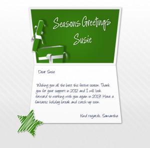 Static Christmas eCards for Business: Aus Charities Custom