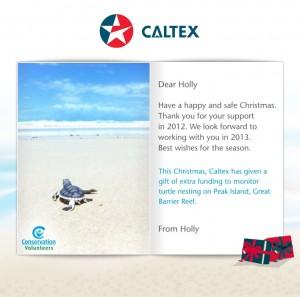 Holiday eCards Gallery Custom eCards for Business: Caltex
