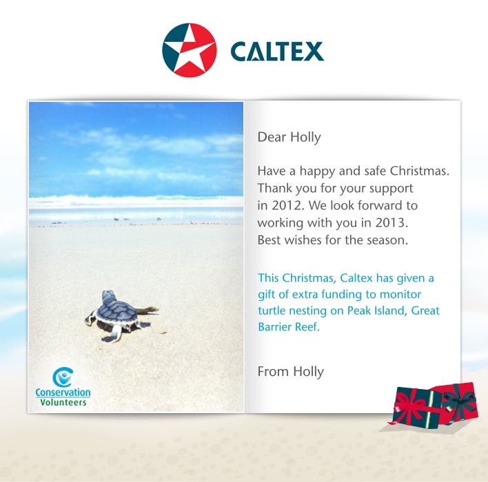 Holiday eCards Gallery Custom eCards for Business: Caltex