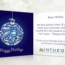 Custom Corporate eCards eCards for Business: Intueor Consulting
