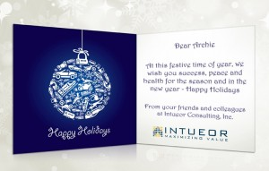 Holiday eCards Gallery Custom eCards for Business: Intueor Consulting