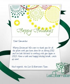 Custom Corporate eCards eCards for Business: List G