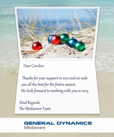 Custom Corporate eCards eCards for Business: Mediaware Custom Card