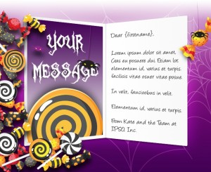 Halloween eCards for Business: Trick Or Treat