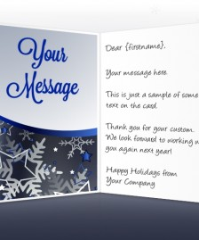 Holiday eCards for Business eCards for Business: Stars and Snowflakes EU