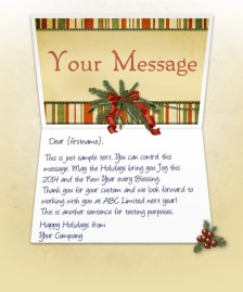 Holiday eCards for Business eCards for Business: Antique Note EU