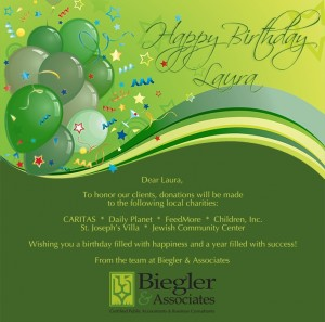 Custom Corporate Birthday eCards eCards for Business: BA Birthday