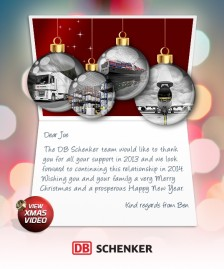 Custom Corporate eCards eCards for Business: DB Schenker