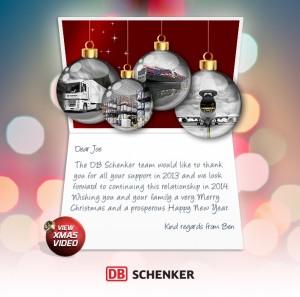Custom Corporate eCards eCards for Business: DB Schenker