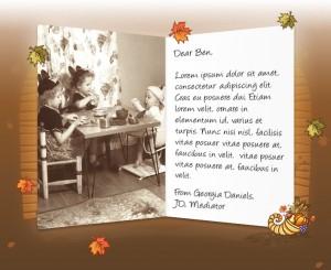 Thanksgiving eCards for Business: Thanksgiving Custom