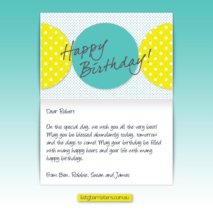 Custom Corporate Birthday eCards eCards for Business: ListG Birthday