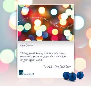 Holiday eCards Gallery Custom eCards for Business: HLB Christmas