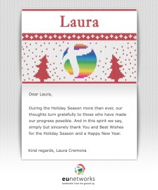 Custom Corporate eCards eCards for Business: euNetworks Custom