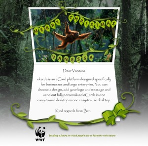 Holiday eCards Gallery Custom eCards for Business: WWF Christmas