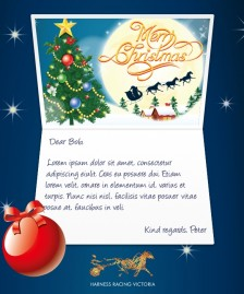 Custom Corporate eCards eCards for Business: HRV Christmas