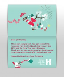 Custom Corporate eCards eCards for Business: HWNS Xmas