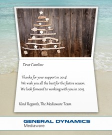 Company Christmas Cards eCards for Business: Mediaware Xmas