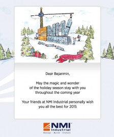 Holiday eCards for Business eCards for Business: NMI Xmas