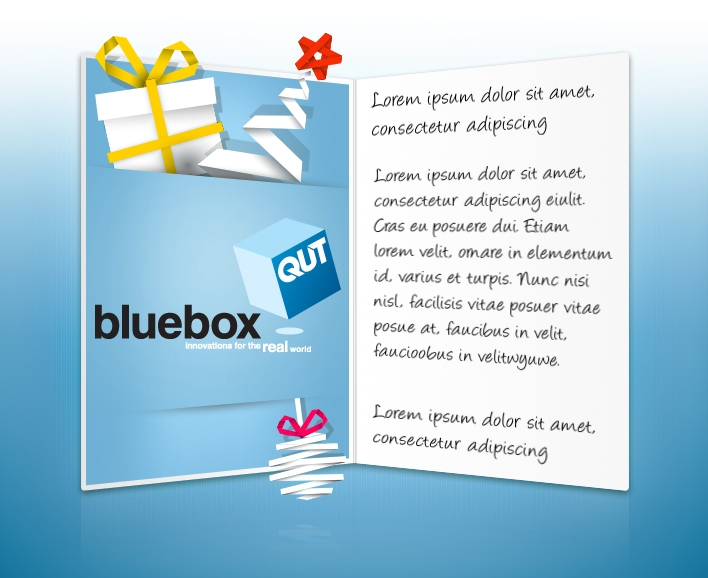 Custom Corporate eCards eCards for Business: qutbluebox
