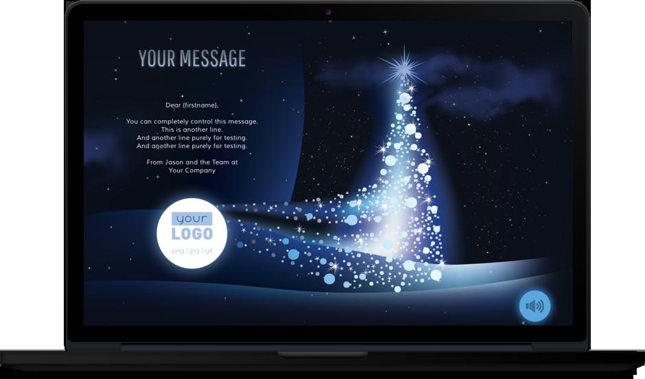 Company Christmas eCards for Business