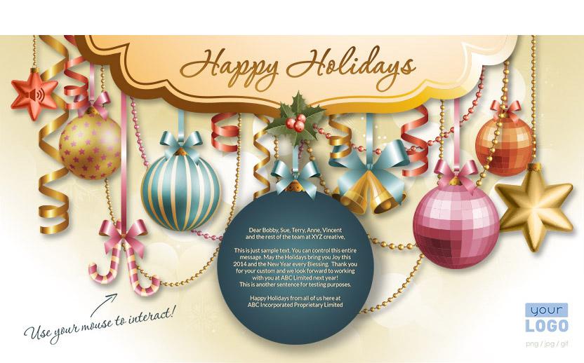 corporate christmas holiday ecards 2015 - Christmas Holiday 2015
