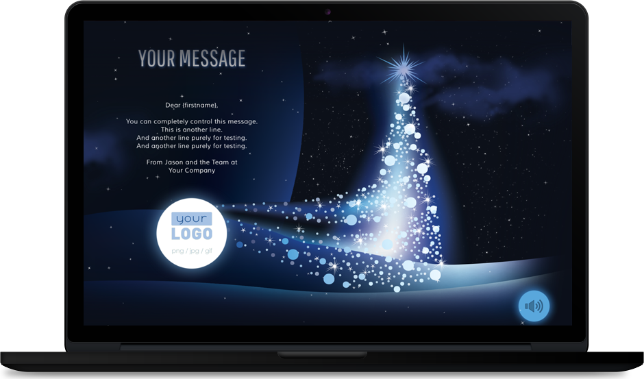 Digital, custom and personalized Xmas eCards for Small and Big Business