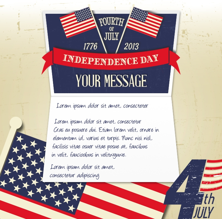 4th July eCards for Business: Independence