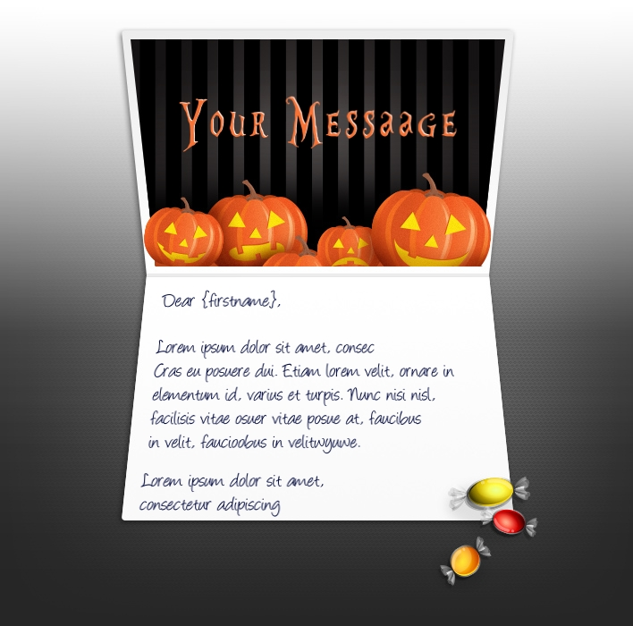 Halloween eCards for Business: Halloween Pumpkins