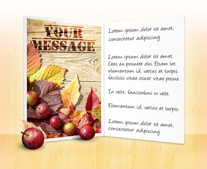 Business thanksgiving cards company greeting ecards thanksgiving day apples and leaves thanksgiving your logo thanksgiving ecards for business thanksgiving custom reheart Image collections