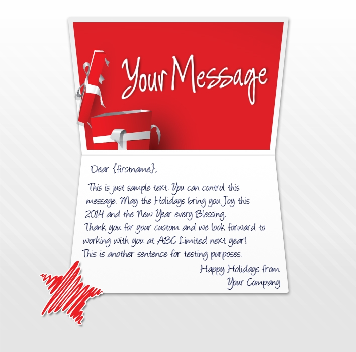 Holiday eCards for Business & Corporate | Custom + Personalised