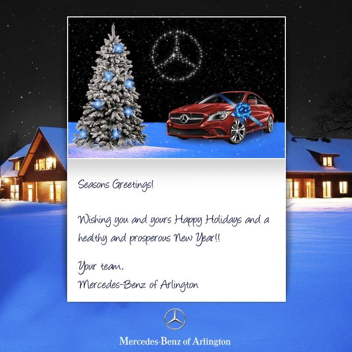 Holiday eCards Gallery Custom eCards for Business: Mercedes Arlington